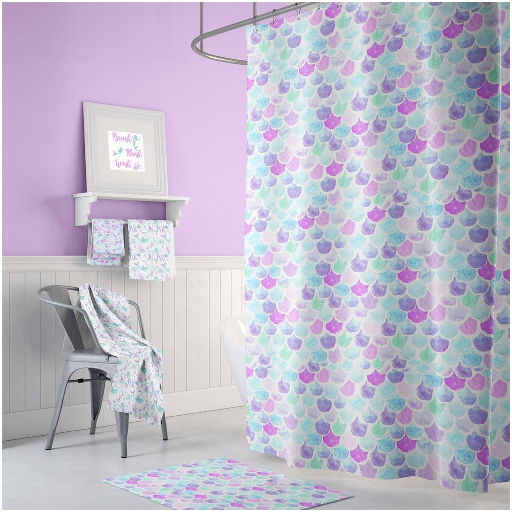 Mermaid Scales Bathroom Collection Bathroom Collection Modified Tot