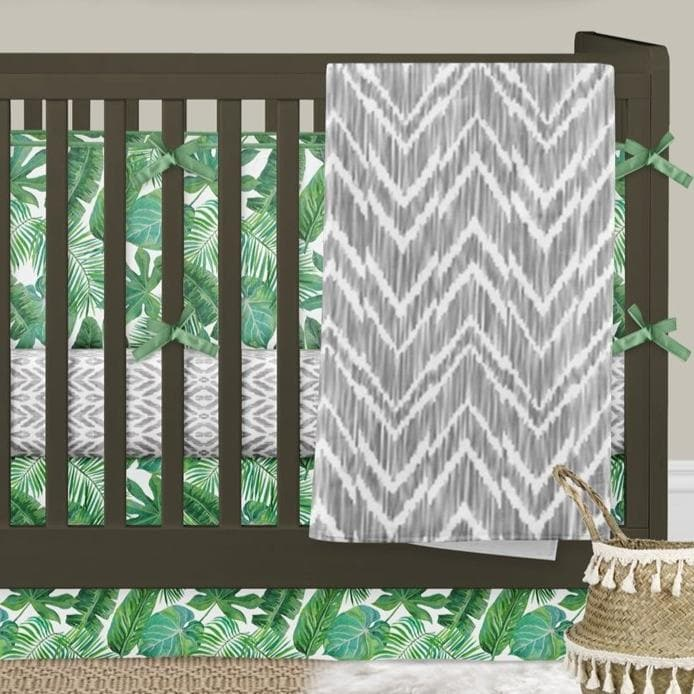 Modern Jungle Bumper Crib Bedding Crib Bedding Modified Tot