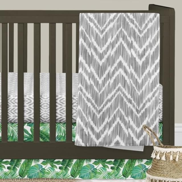 Modern Jungle Crib Bedding Crib Bedding Modified Tot
