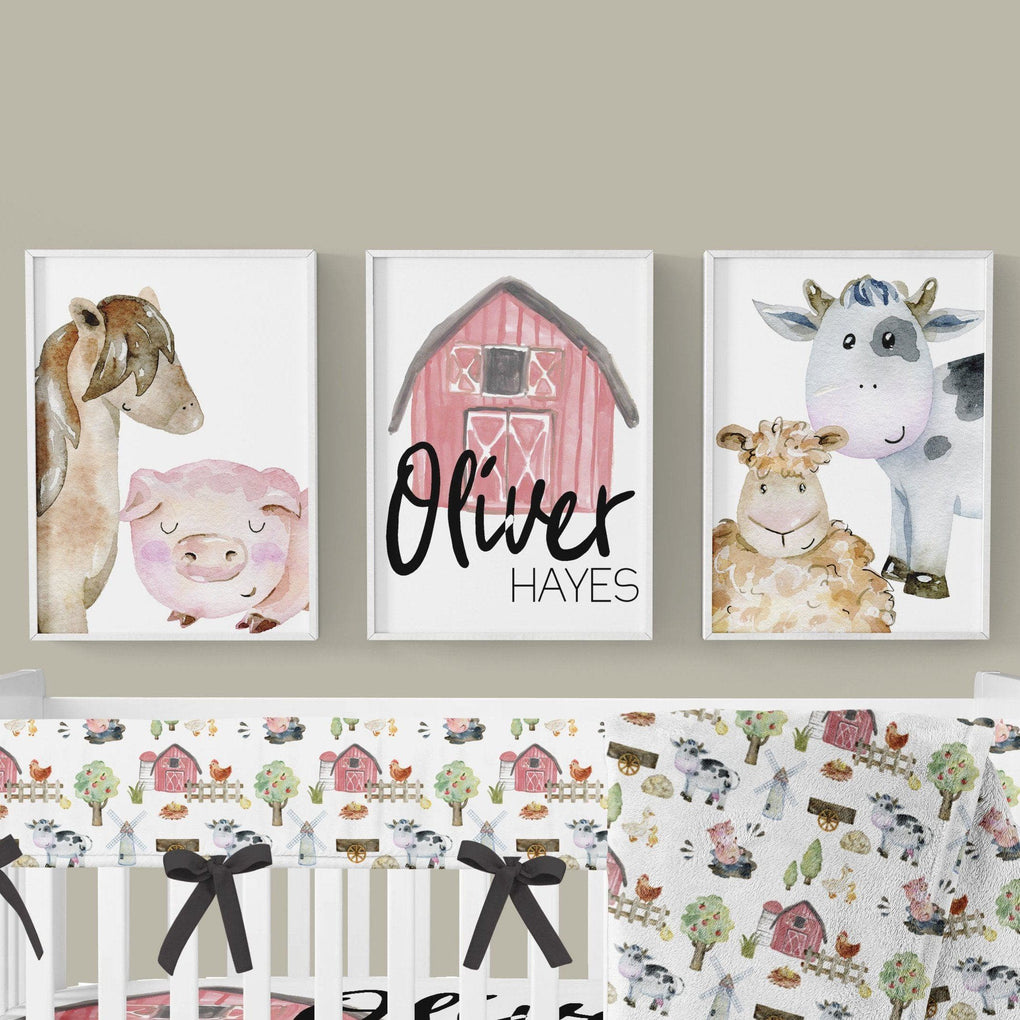 On the Farm Wall Art Trio (Download) download Modified Tot