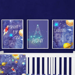 Outer Space Art Print Trio (Download) download Modified Tot
