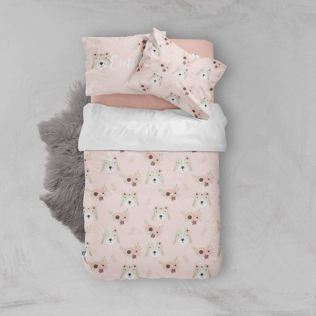 Personalized Puppy Big Kid Bedding Set Big Kid Bedding Modified Tot