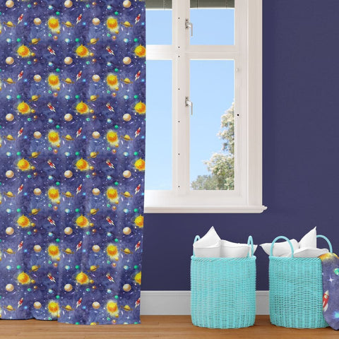 Solar System Curtain Panel Curtain Panels Modified Tot