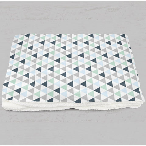 Sweet Dreams Triangle Minky Blanket Minky Blanket Modified Tot