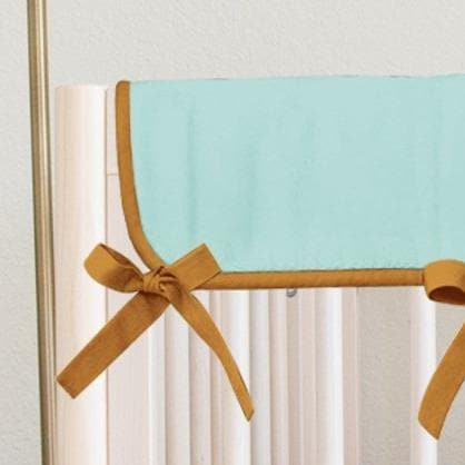 Teal Boho Rainbow Rail Guards Rail Guards Modified Tot