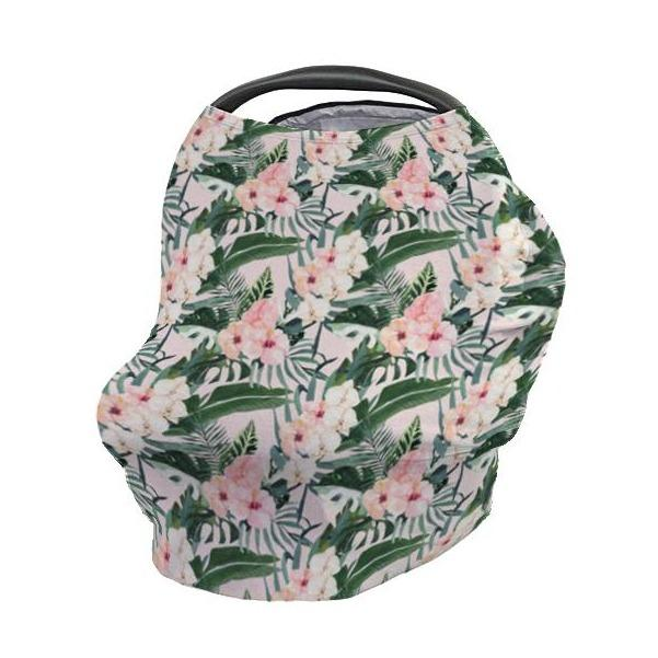 Tropical Floral Car Seat Cover Car Seat Cover Modified Tot
