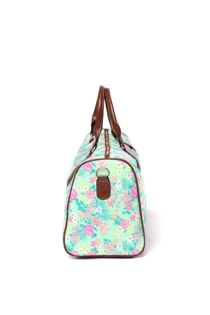 Tropical Floral Hospital Bag Hospital Bag Modified Tot