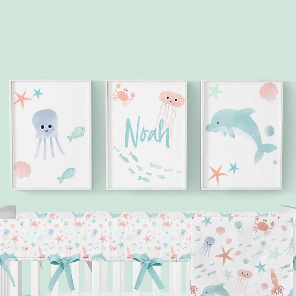 Under the Sea Wall Art Trio (Download) download Modified Tot