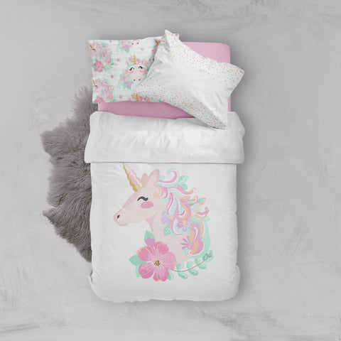 Unicorn Big Kid Bedding Set Big Kid Bedding Modified Tot