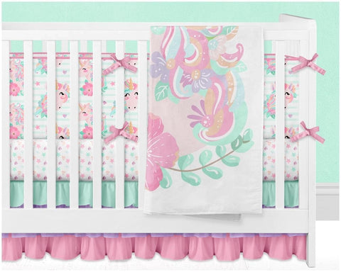 Unicorn Dreams Double Minky Blanket Blankets Modified Tot