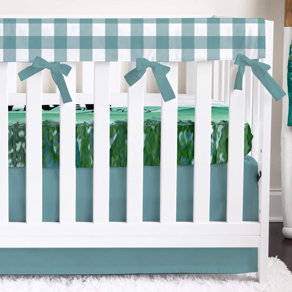Wild Woods Bumperless Crib Bedding Crib Bedding Modified Tot