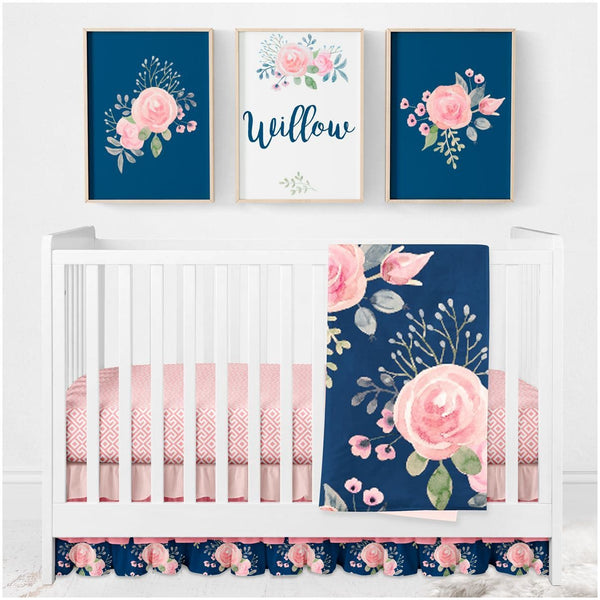 Wildflowers Crib Bedding Crib Bedding Modified Tot