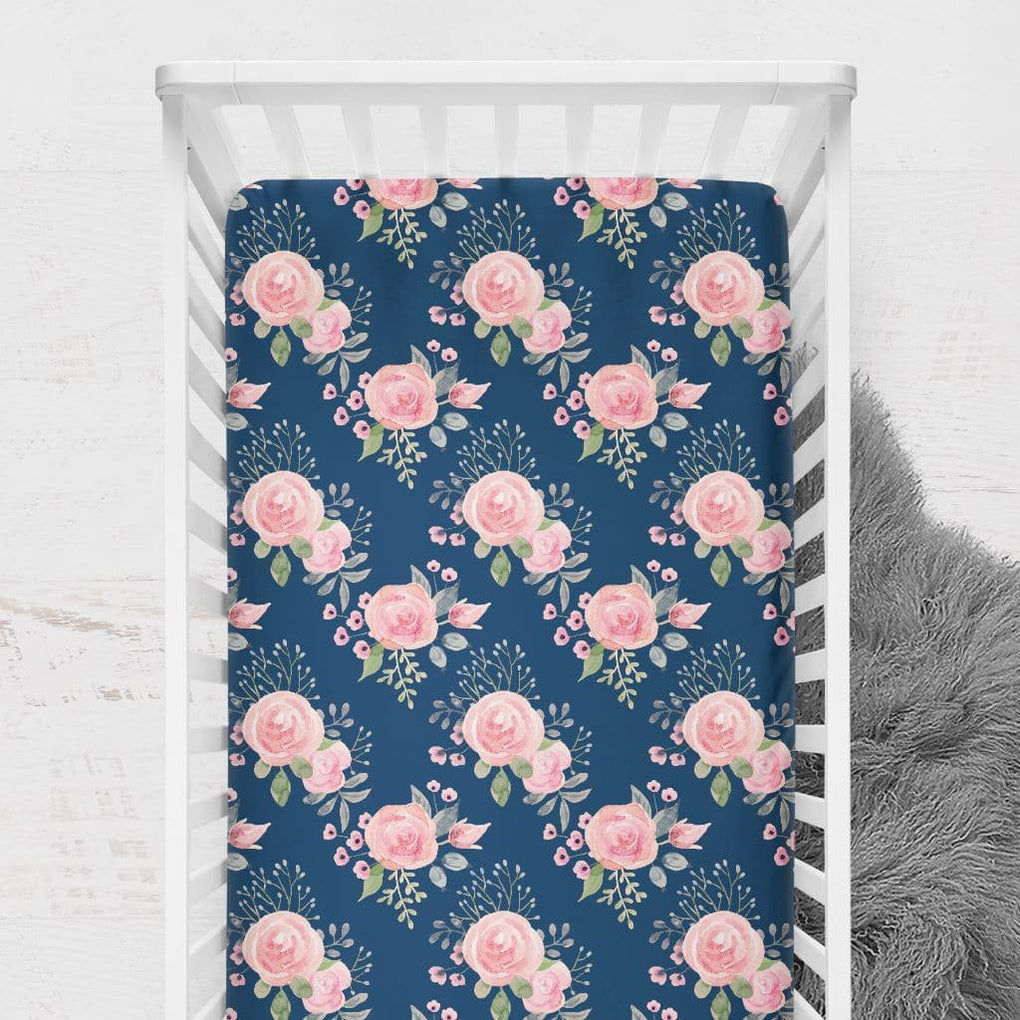 Wildflowers Crib Sheet Crib Sheet Modified Tot