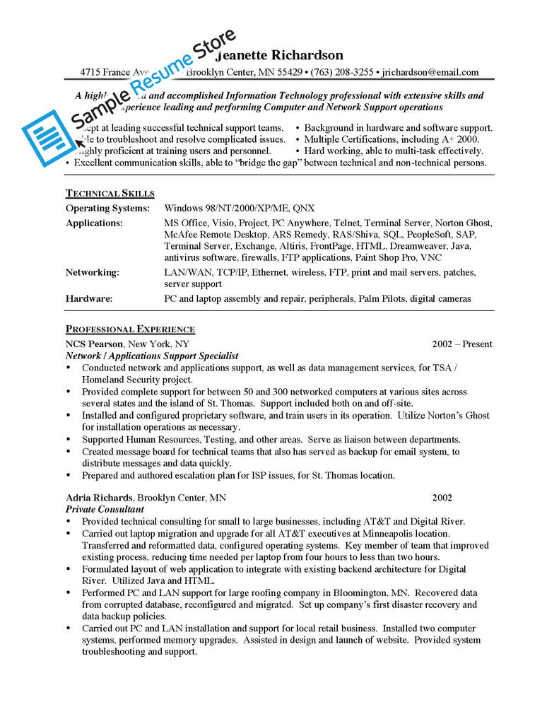 application support resume s support lewesmr