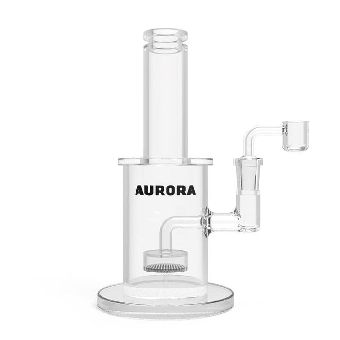 AURORA-STRAIGHT TUBE WATER PIPE-CLEAR-8IN