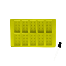 Load image into Gallery viewer, Silicone Ice Cube Tray with dropper - Lego