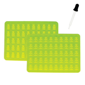Silicone Ice Cube Tray with dropper - Gummy Bear