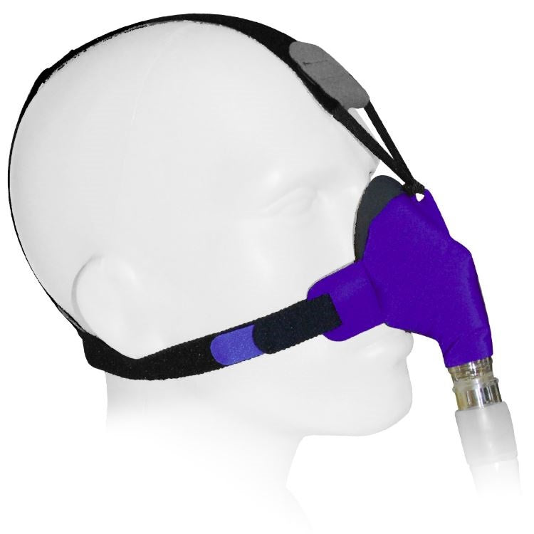 SleepWeaver Advance Soft Cloth Nasal CPAP Mask by Circadiance