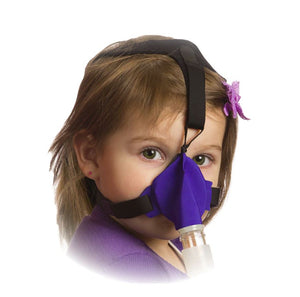 SleepWeaver Advance Pediatric Nasal Soft Cloth CPAP Mask with Headgear