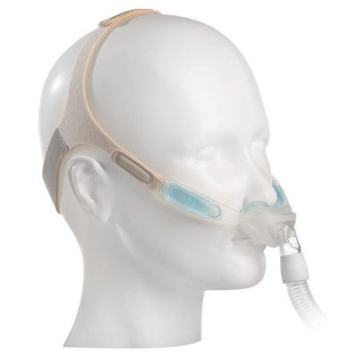 Respironics Nuance/Nuance Pro Gel CPAP Nasal Pillow Mask with Headgear