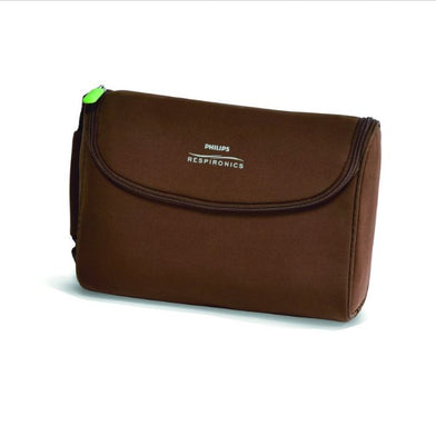 Respironics SimplyGo Mini Accessory Bag, Brown & Black, 1116824