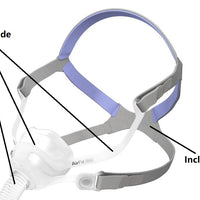Headgear for ResMed AirFit N10 Nasal CPAP Interface