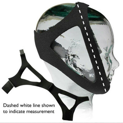 Sunset Healthcare Crown Fitted Adjustable Chin Strap
