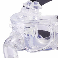 DeVilbiss Hybrid Full Face Nasal Pillow CPAP/BiPAP Mask with Headgear