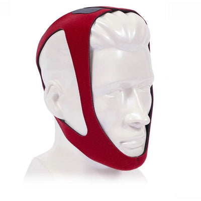 CareFusion PureSom Ruby Adjustable Breathe-O-Prene CPAP Chin Strap