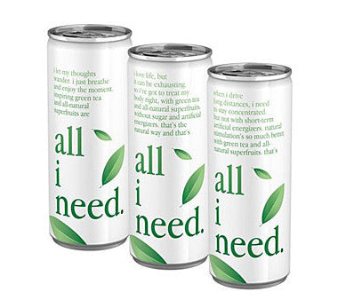 all i need Tray 24 x 250ml