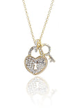 Crystal Ball Necklace-Clear