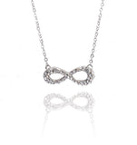 Crystal HorseShoe Necklace-Clear