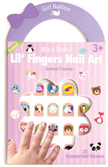 Mix & Match Lil Fingers Nail Art Animal Friends