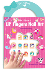 Mix & Match Lil Fingers Nail Art Unicorn Fantasy