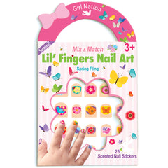 Mix & Match Lil Fingers Nail Art Spring Fling