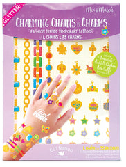 Charming Chains n Charms Temporary Tattoos: Girl Power