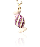 Lollipop Necklace-Purple