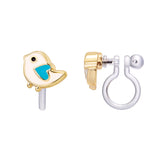 Personable Penguin Cutie Clip-on Earrings