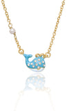 Under the Sea Enamel Fish Necklace