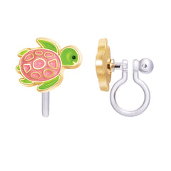 Turtley Awesome Cutie Clip-on Earrings
