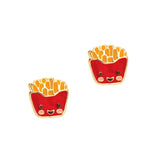 Cutie Enamel Studs Red Fox