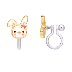Bunny Cutie Clip-on Earrings