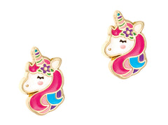 Cutie Enamel Studs Unicorn Dreams