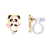 Panda Love Cutie Clip-on Earrings