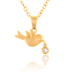 Bird Pendant Necklace