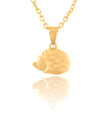 Hedgehog Pendant Necklace