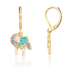 Crystal Unicorn Magic Earrings
