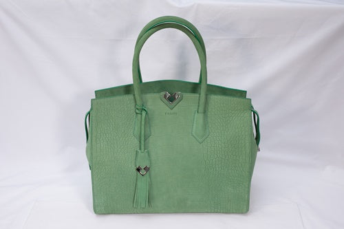BENA TOTE IN NUBUCK LEATHER