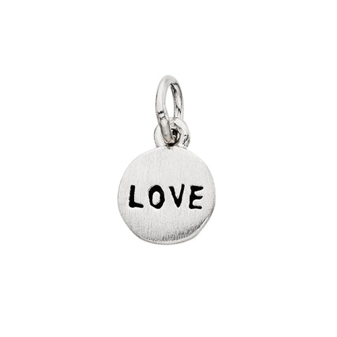 "Sterling Silver Mommy Chic ""Love"" Charm"