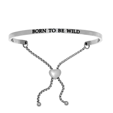 "Intuitions ""Born To Be Wild"" Friendship Bracelet - Victoria's Jewelry"